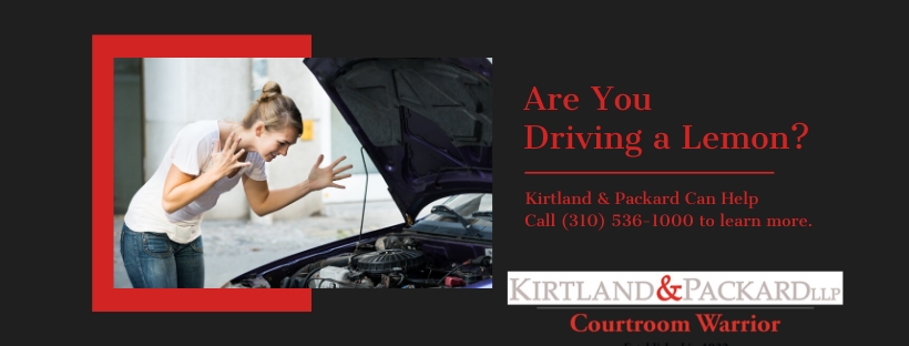 Are You Driving a Lemon CTA | Kirtland & Packard