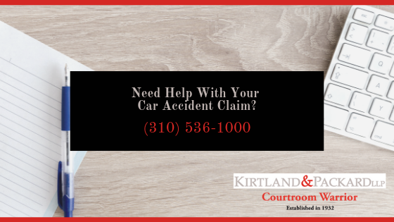 Help Filing Car Accident Insurance Claim in California | Kirtland & Packard CTA