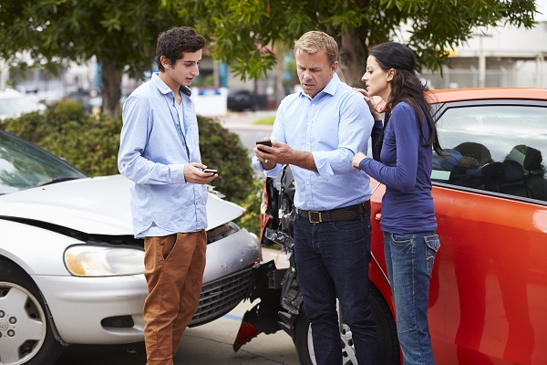 Teen driving accident claims in California