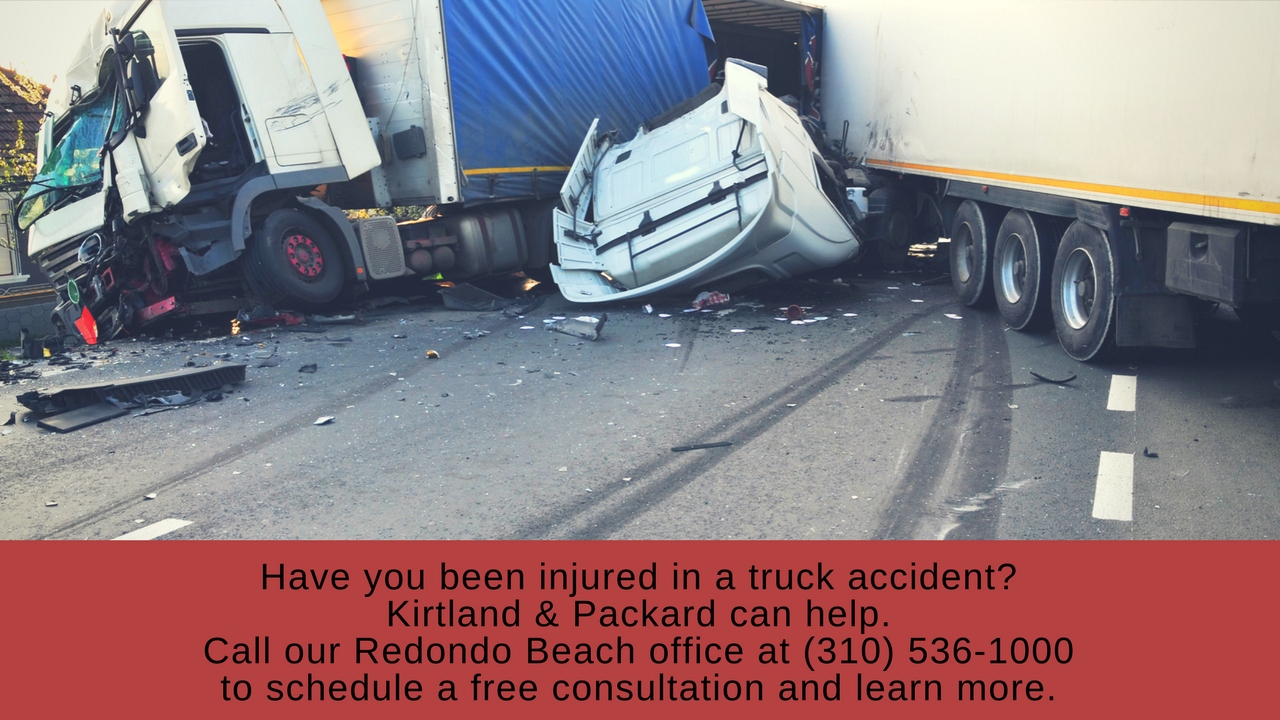 Lawyers for truck crash injuries in Redondo Beach